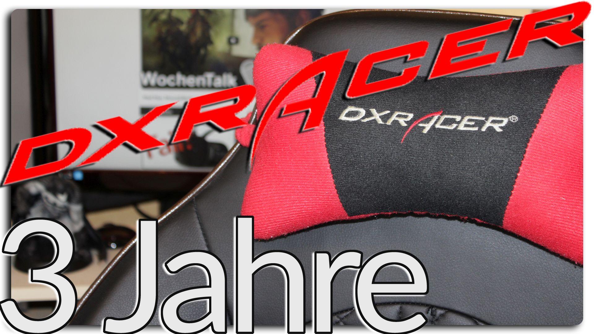 dxracer 3 jahre dannach